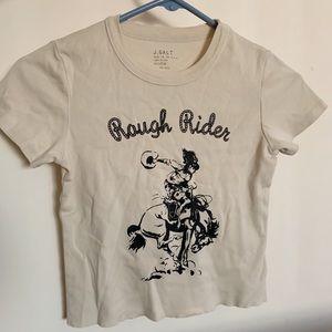 brandy melville rough rider shirt